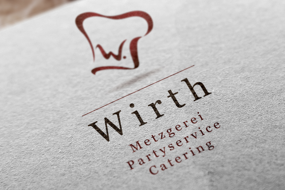 Wirth Metzgerei Partyservice Catering Logo